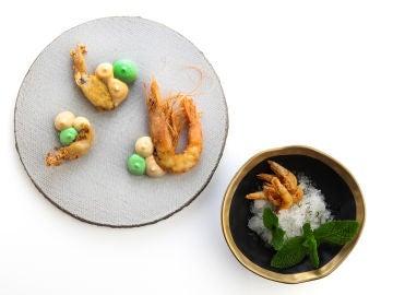 El plato dedicado a Andalucía de Cebo.