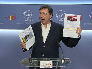 """El PP pide la comparecencia urgente en pleno de Sánchez para que informe de sus supuestos pactos con partidos """"radicales, independentistas y proetarras"""""""