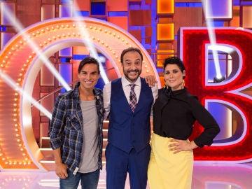 Julio Iglesias Jr y Rosa López en 'La noche de Rober'