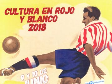 Cartel de 'Cultura en Rojo y Blanco'