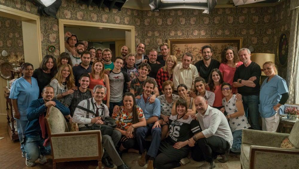 final de rodaje de la 6 temporada