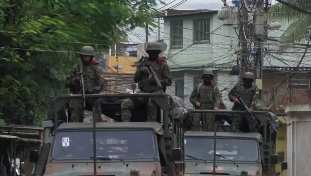 Impresionante operativo de seguridad contra el crimen organizado en seis favelas de Río de Janeiro