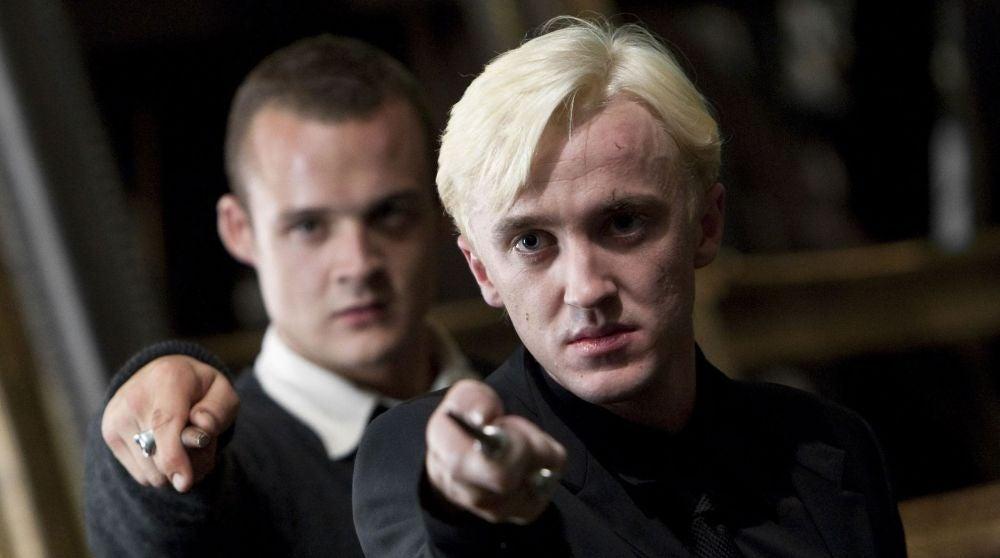 Tom Felton en 'Harry Potter y las Reliquias de la Muerte'