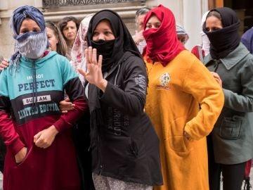 Las temporeras que denunciaron abusos sexuales en Huelva