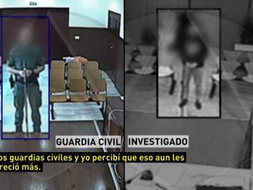 La declaración ante el juez de los agresores a los guardias civiles de Algeciras
