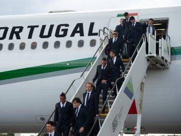 Portugal llega a Rusia