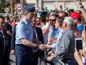 El Rey celebra el Aniversario de la Academia del Aire