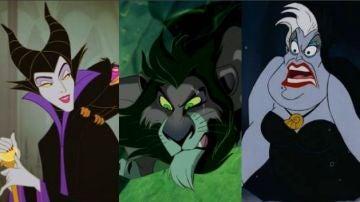 Los villanos de Disney