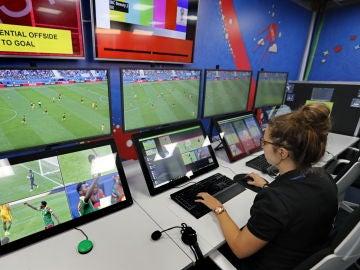 Así es la sala del VAR para el Mundial