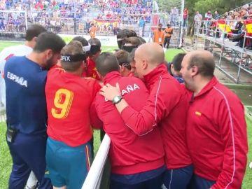 """En juego el Mundial de fútbol para ciegos en Madrid: """"Si la gente lo conociera tendría un éxito bestial"""""""