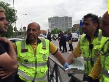 Un joven reanima a un conductor en parada cardiaca