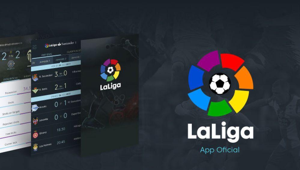 La aplicación de LaLiga