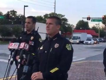 Rueda de prensa de la policía de Orlando