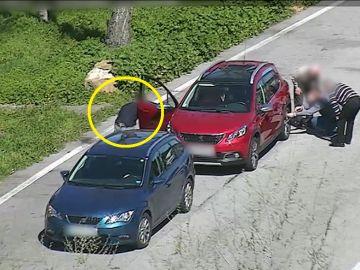Despistaban a los conductores para robarles