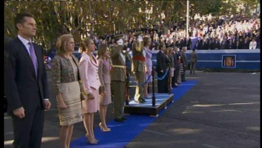 El último acto oficial de los duques de Palma