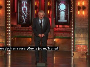 """Robert De Niro: """"Que te jodan, Trump"""""""