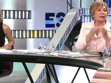 Celia Villalobos y Arsenio Escolar en Espejo Público
