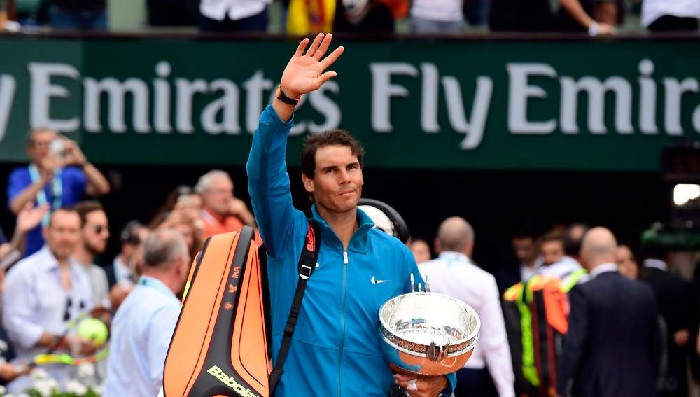 Nadal se despide del público de París con su undécimo Roland Garros en la mano