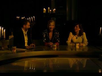 El plató de 'El Hormiguero 3.0' se queda a oscuras durante la entrevista a las actrices Belén Rueda y Natalia de Molina
