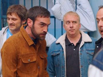 Iñaki, Peio, Antxon y Jozé atrapados en la cárcel