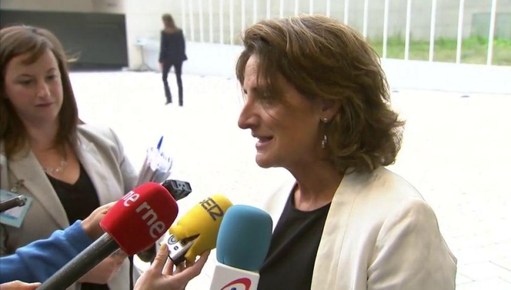 """Teresa Ribera: """"El mensaje más importante es: España está de vuelta"""""""