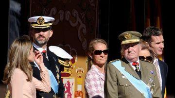 El último acto del 12 de octubre al que acudieron los duques de Palma