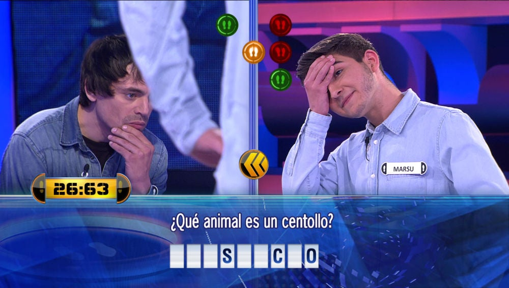 """La pregunta de '¡Ahora Caigo!' que provoca """"dolor"""" a dos concursantes"""