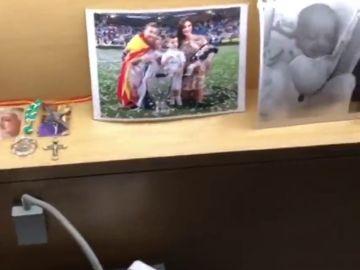 Sergio Ramos enseña los detalles de su habitación en Krasnodar