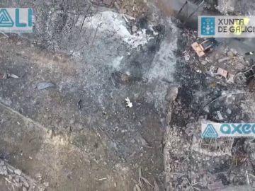 La Guardia Civil encuentra más material pirotécnico en Tui, propiedad del único acusado por la explosión