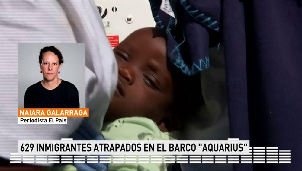 Italia cierra las puertas a 629 inmigrantes atrapados en el barco 'Aquarius'