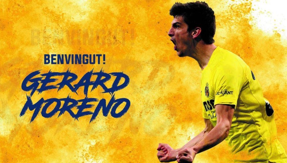 Gerard Moreno, nuevo jugador del Villarreal