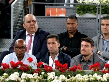 Capdevilla, en el Madrid Open con Senna, Baptista y Riera