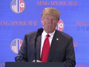 """Trump suspenderá las maniobras militares en Corea tras conocer que Kim Jong-un """"está destruyendo centros de pruebas nucleares"""""""