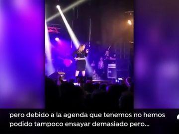 Amaia Montero hace viral los criticados momentos de su concierto en Cantabria