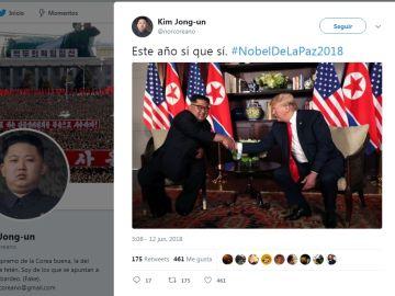 Reunión entre Kim-Jong-Un y Trump