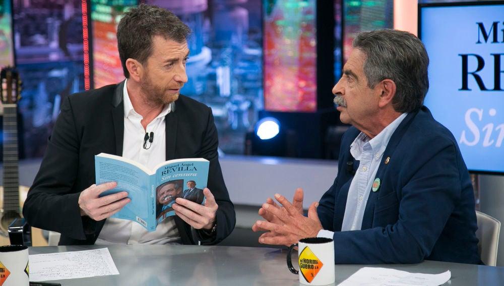 """Miguel Ángel Revilla habla de """"la resurrección de Pedro"""" en su libro 'Sin censura': """"Ahora hubiese escrito la ascensión de Pedro"""""""