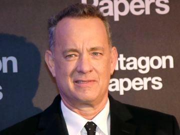 Tom Hanks en la premiere de 'Los archivos del Pentágono'