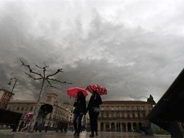 Llluvia en España