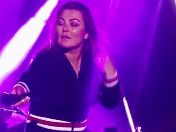 La cantante Amaia Montero se justifica tras el polémico concierto de Cantabria