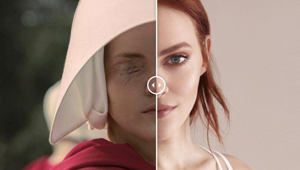Compara el cambio radical de los protagonistas de 'El cuento de la criada'