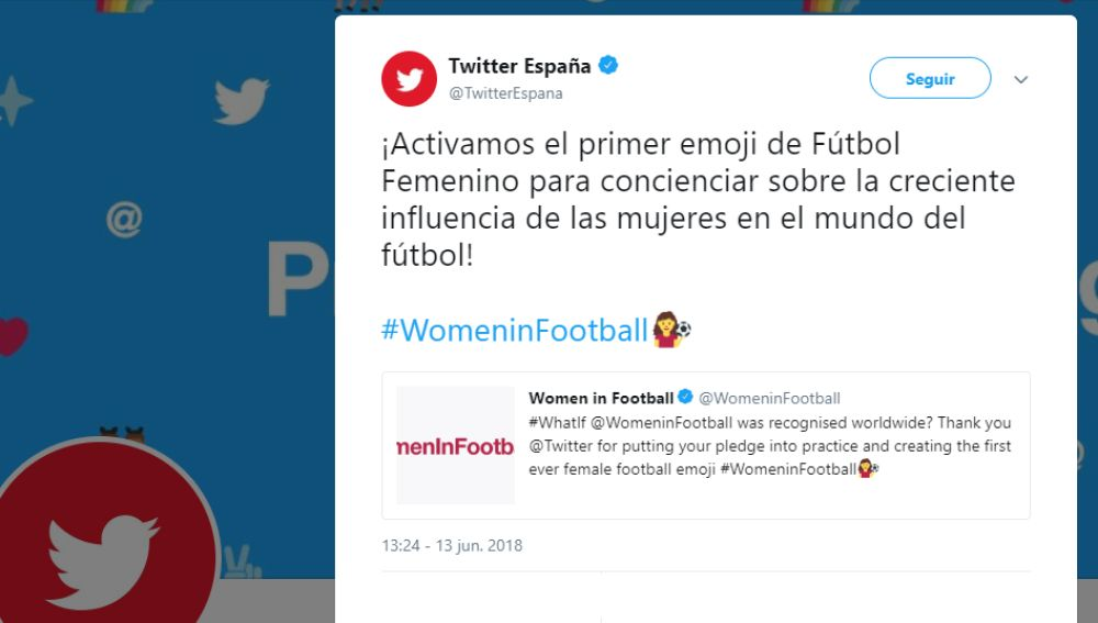 #WomeninFootball