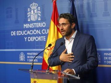 Máxim Huerta anuncia su dimisión