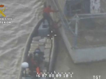 Incautadas seis toneladas de hachís en el río Guadalquivir