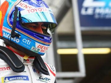 Fernando Alonso, en las 24 horas de Le Mans