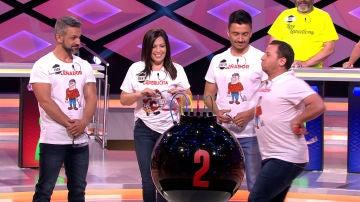 """Un concursante de '¡Boom!' se atreve con una peculiar imitación: """"En Marchena son muy famosos los palomos"""""""