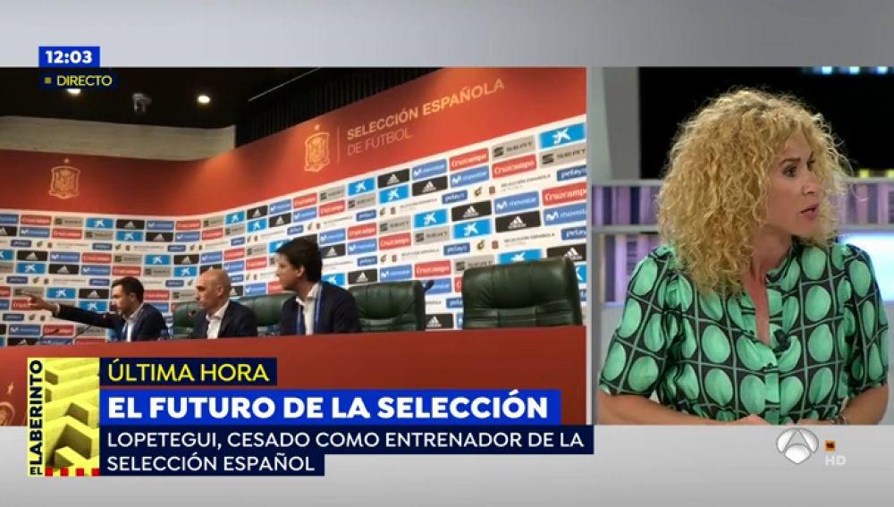 """Cristina Fernández: """"Sergio Ramos y otros jugadores presionaron a Luis Rubiales para que no destituyera a Lopetegui"""""""