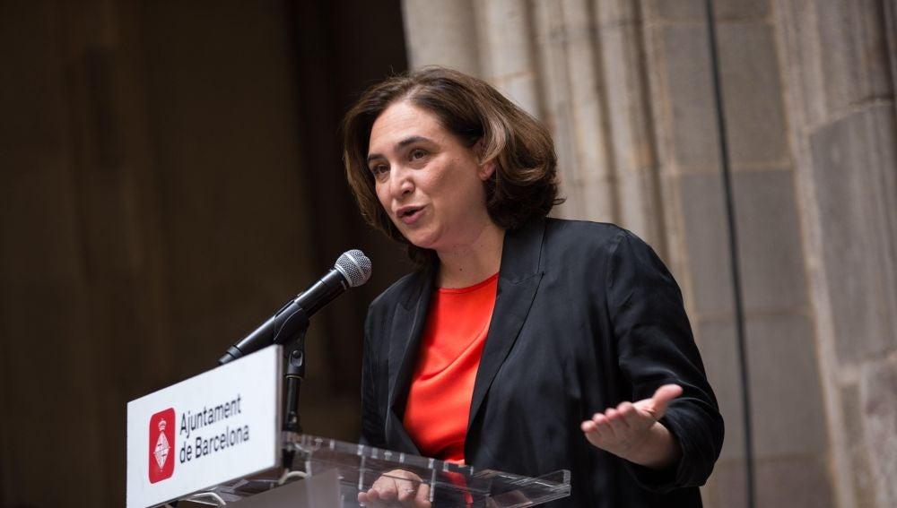 La alcaldesa de la ciudad, Ada Colau