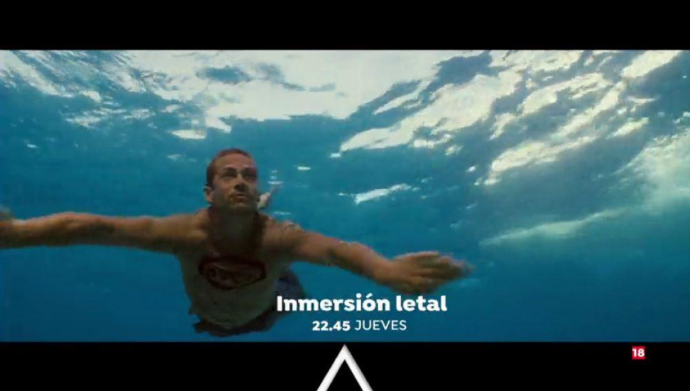 Cine de suspense en Antena 3 con 'Inmersión Letal'