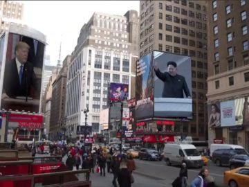 Trump muestra un vídeo en formato tráiler a Kim Jong para convencerlo de un acuerdo de paz