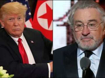 Donald Trump y Robert De Niro